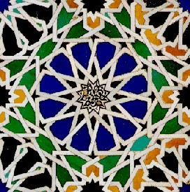 A mosaic of the Alhambra